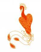 Magic bird (orange Firebird)