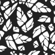 Seamless pattern with cones of hops or leaves and ...