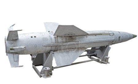 Photo pour Missiles russes sur fond blanc - image libre de droit
