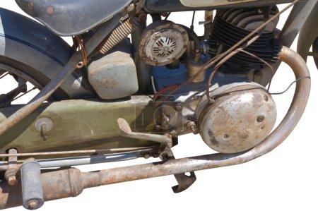 motorcycle metal grille