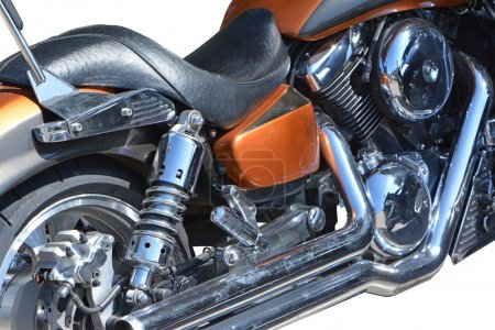 motorcycle chrome metal grille