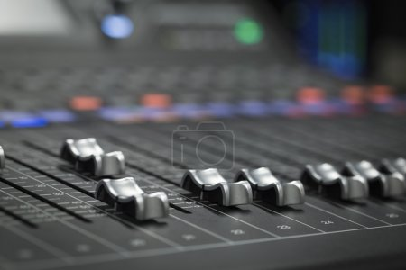 Photo for A professional audio mixer - Royalty Free Image