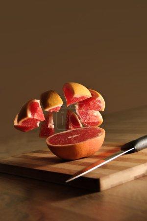 Juicy grapefruit