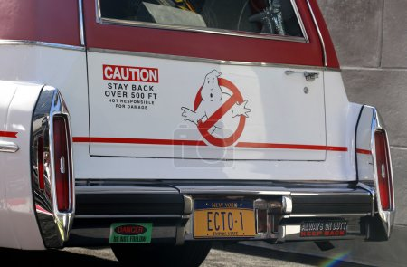 Ecto1 of Ghostbusters