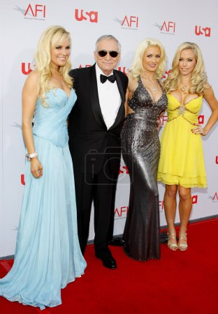 Hugh Hefner Bridget Marquardt Holly