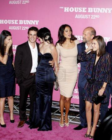 Bruce Willis Demi Moore Rumer