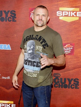 mixed martial artist Chuck Liddell