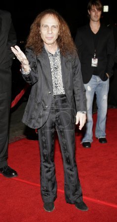 rock musician Ronnie James Dio