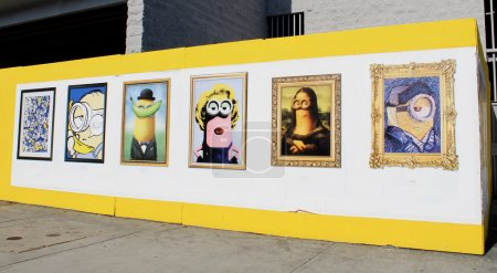 Minions movie promotional posters