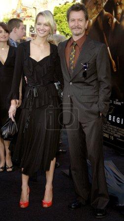 Gary Oldman and Alisa Marshall