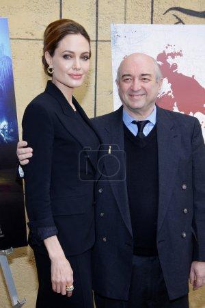 Анджелина Джоли и Такла Аида