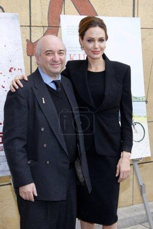 Angelina Jolie and Aida Takla