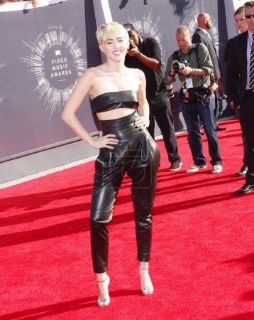 Musician Miley Cyrus