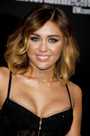 Actress Miley Cyrus