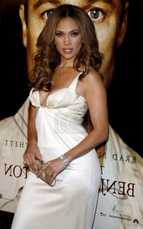 Photo for USA, LOS ANGELES, 8 DECEMBER,2008. Jennifer Lopez at the Los Angeles premiere of 'The Curious Case Of Benjamin Button' held at the Mann's Village Theater  in Westwood - Royalty Free Image