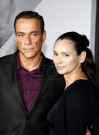 JeanClaude Van Damme and Gladys