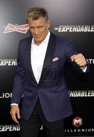 Dolph Lundgren at the Los