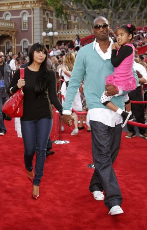 Kobe Bryant with wife Vanessa