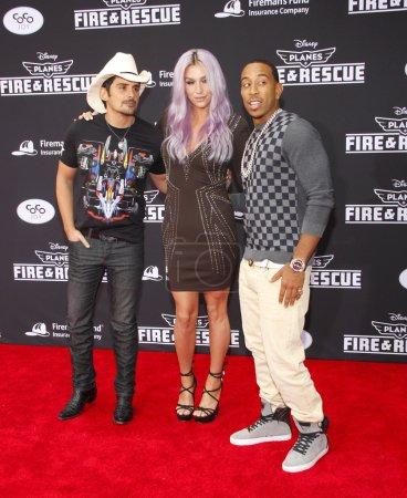 Brad Paisley Kesha and Ludacris