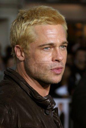 Brad Pitt at Los Angeles