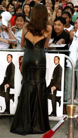 Анджелина Джоли в ЛосАнджелесе