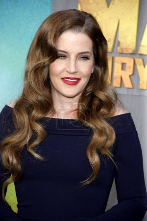 Lisa Marie Presley at Los