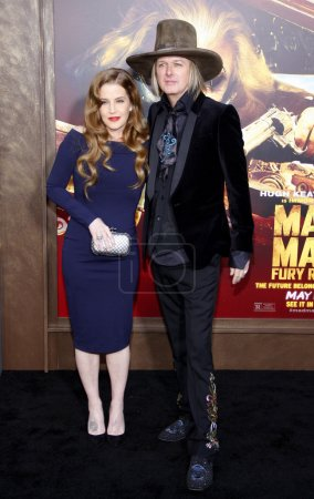 Lisa Marie Presley and Michael