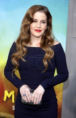 Lisa Marie Presley at Los