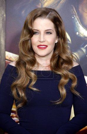singer Lisa Marie Presley