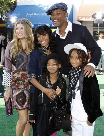 Fergie and Will Smith with