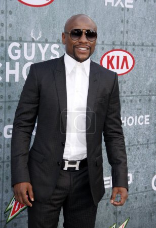 Floyd Mayweather Jr in Los