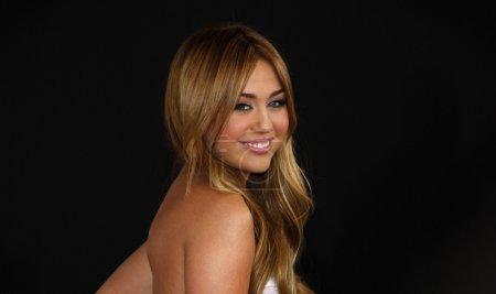singer Miley Cyrus