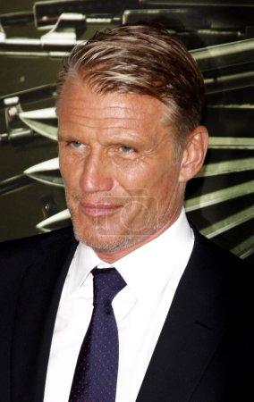Actor Dolph Lundgren