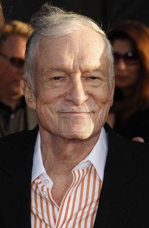 Publishing mogul Hugh Hefner