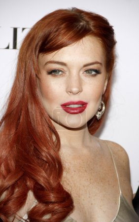 LOS ANGELES, CA, USA - NOVEMBER 20, 2012: Lindsay Lohan at the Los Angeles premiere of 'Liz & Dick' held at the Beverly Hills Hotel in Los Angeles.
