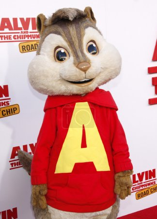 Animated character Alvin