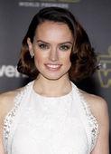 Actress Daisy Ridley