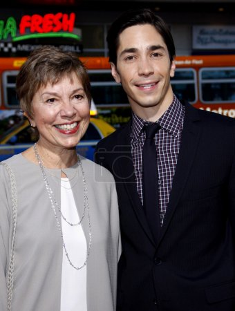 Wendy Lesniak and Justin Long