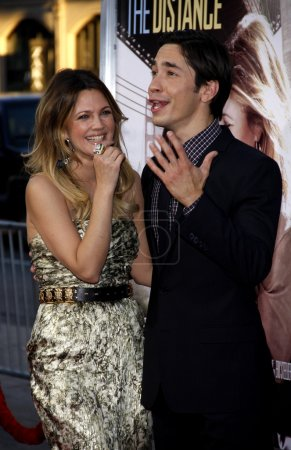Drew Barrymore and Justin Long