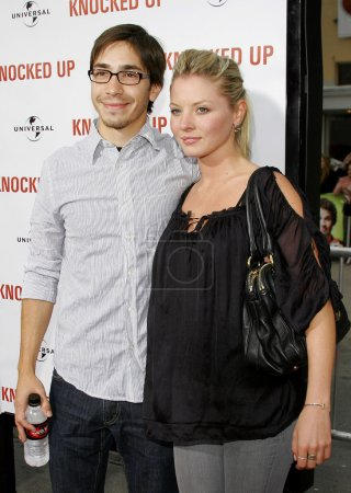 Justin Long and Kaitlin Doubleday