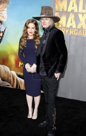 Lisa Marie Presley and Michael