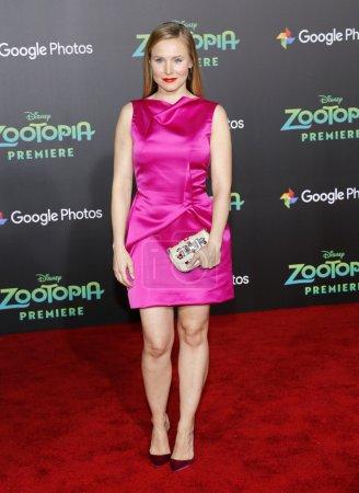 Actress Kristen Bell