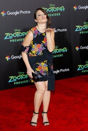 Actress Katie Lowes