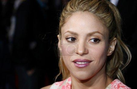 Singeractress Shakira