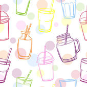 smoothie and juice bottles