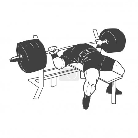 powerlifting bench press