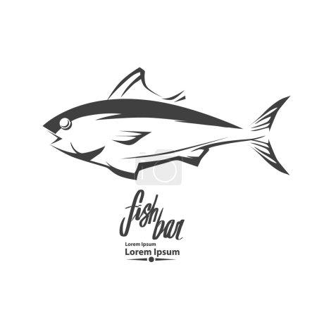 tuna logo fish