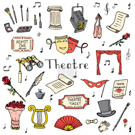 Theatre set color