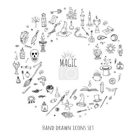 Magic icons set