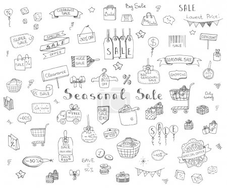 Seasonal Sale Concept set